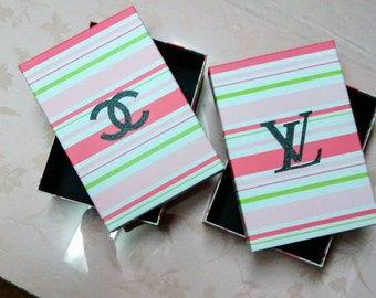 Chanel and LV Designer inspired storage boxes