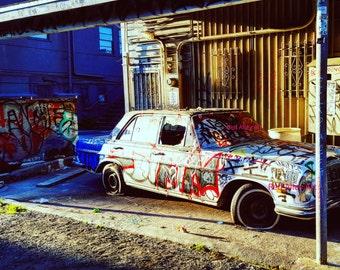 West Hollywood Graffiti Car