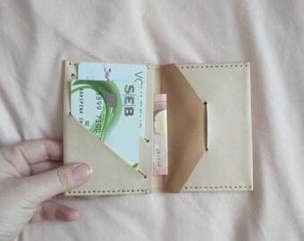 Bruna- Leather Wallet, Minimalist Wallet, Womens Wallet, Mens Wallet, Mens Leather Wallet, Card Wallet, Travel Wallet, Handmade Wallet, W