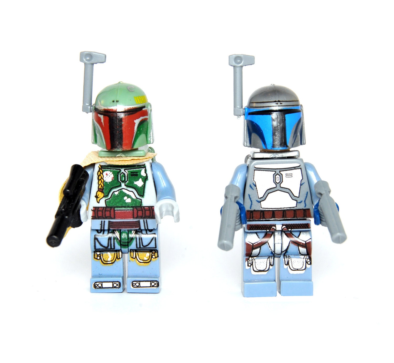 set Boba Fett and Jango Fett Star Wars Custom Minifigure