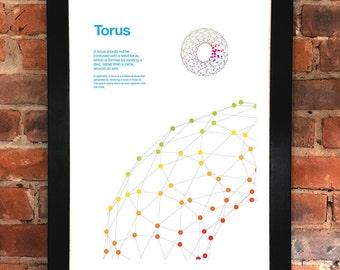 Helvetica Neue Torus Poster
