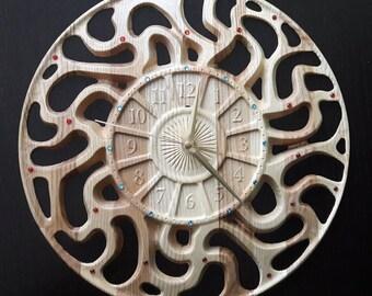 """Wooden wall clocks """"Sakta"""""""