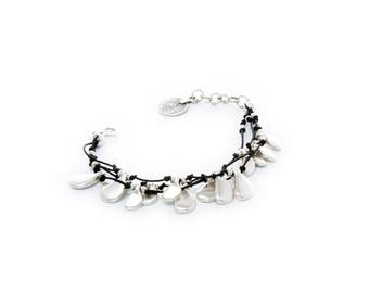 Fashion Jewelry 2017 Collection - Silver plated antique hand crafted bracelet