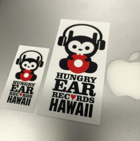 Hungry Ear Decal (small or large)
