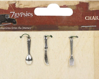 7gypsies Charms: Mini Cutlery