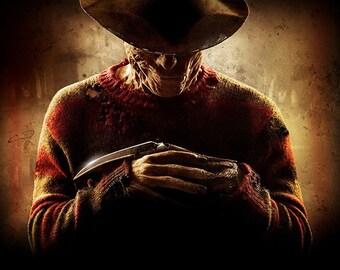 Freddie - Nightmare on Elm Street - Movie - Horror - Wall Art - 8x10 - 11x14 - 16x20 (JS000541)