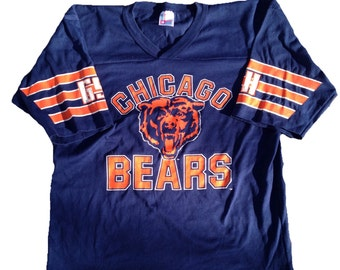 Vintage 1980's Chicago Bears Tee Shirt