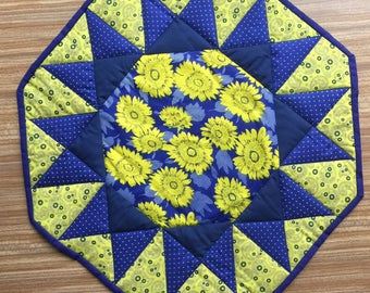 Quilted handmade Table Topper
