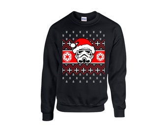 EXPEDITED SHIPPING** Ugly Christmas Sweater Inspired Star Wars, Xmas Sweaters, Holidays, Party, Christmas Party, Christmas Gift