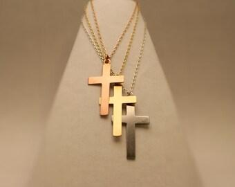 Customizable Cross Necklace