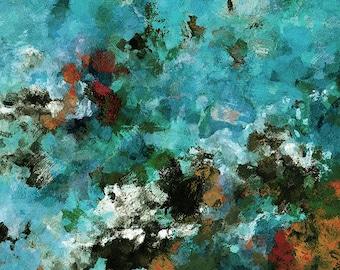 Large Abstract Art, Abstract Art Prints, Modern Art Print, Minimalist Art Prints, Canvas Print of an Acrylic Painting, Modern Wall Art