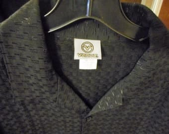 Vintage Mens Shirt 80'S     by VENUE    never worn     still with tags on it