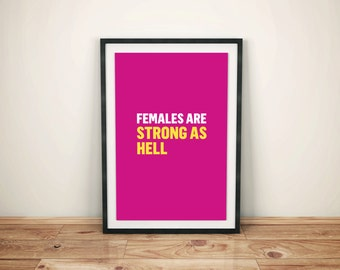 Sale| Unbreakable Kimmy Schmidt- Tv Show | Poster| Art | Print – Females are Strong