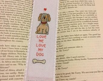 Bookmark - Dog