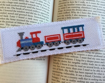 Bookmark - Steam train.