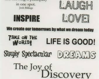 Life Journey Vellum Quotes Forever In Time Scrapbook Embellishments Cardmaking Crafts