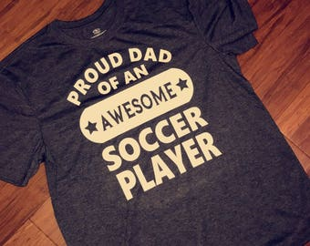 Soccer dad shirt. Soccer Dad t-shirt. Soccer shirt. Father's Day shirt