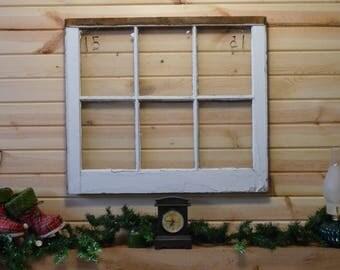 "Vintage window sash (1950's) size 28x23"""