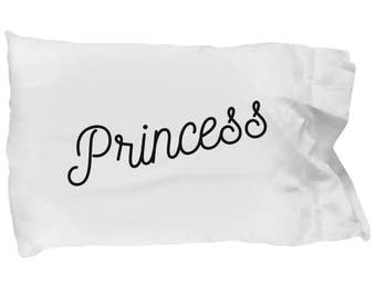 Princess Pillow Case. A Great Gift For a Very Special Person!