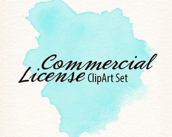 Commercial License/No Credit Required for Clipart Set