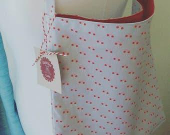Cotton Shoulder Bag / Tote