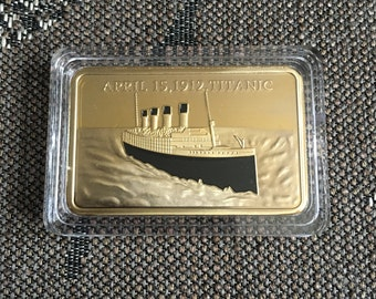 Titanic memorable bar - coin