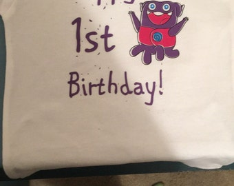 Home birthday shirt