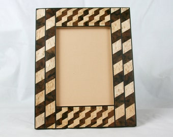 "Handmade picture/photo frame 5 ""x 7"" handcrafted picture frames/photo framing 13x18cm"