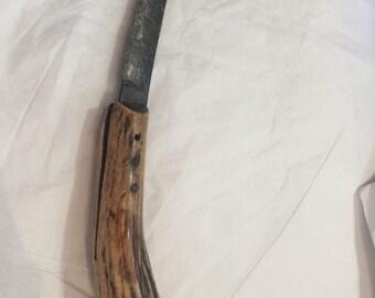 Antique John Petty & sons Sheffield Steel Knife