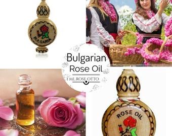 Bulgarian Rose Oil, Rose Otto - 1ml