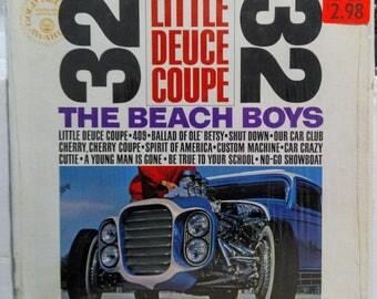 Beach Boys Surf Hot Rod Lp Little Deuce Coupe SIS Capitol