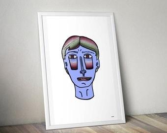 Nervous Illustration