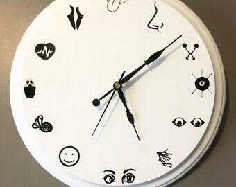Cranial Nerve Clock