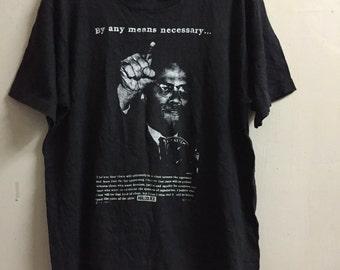 Vintage Malcolm X Shirt