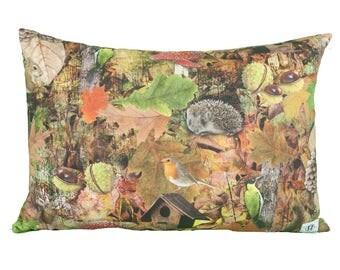 Pillow rectangle autumn Woods