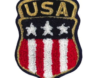 """Patch iron Terry """"United States coat of arms"""""""