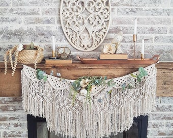 Banner Style Macrame Wall Hanging