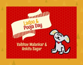 LadooBook: Pooja Day! Fun & engaging children's book about Indian culture! Great gift for young readers!