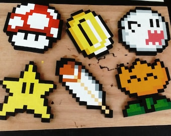 3D Nintendo Super Mario World Pixel Art