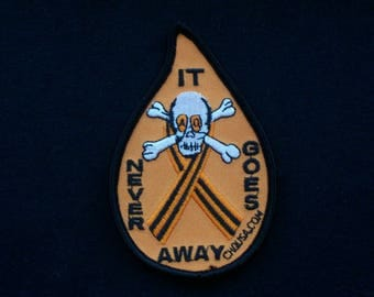 Agent Orange It Never Goes Away patch