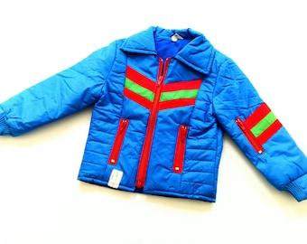 ReTro NyLon Jacket boys size 2-3Y olDschOol vintage jacket 86