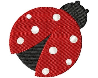 Lady Bug Embroidery Design, Embroidery Design, Machine Embroidery, Embroidery, Bug, Instant Download, Design, Embroidery Designs, Pattern
