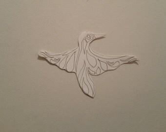 Personalised Fancy Bird Pattern