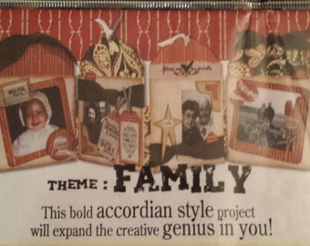 Family Joy & Smiles Accordian Kit from Quick Quotes