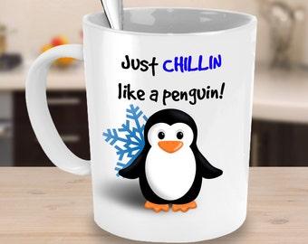 Penguin Mug | Penguin Coffee Mug | Penguin Mugs | Penguin Books Mugs | Penguin Classics Mugs | Penguin | Cute Penguin Mug