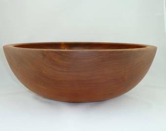 Large Cherry Salad Bowl (16.75X6)