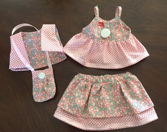 """18"""" Doll Clothes Four piece Outfit"""
