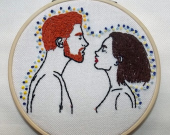 Love, Embroidery