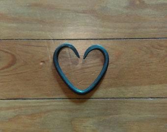 Blacksmith heart. Steel heart