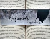Six of Crows quoted bookmark